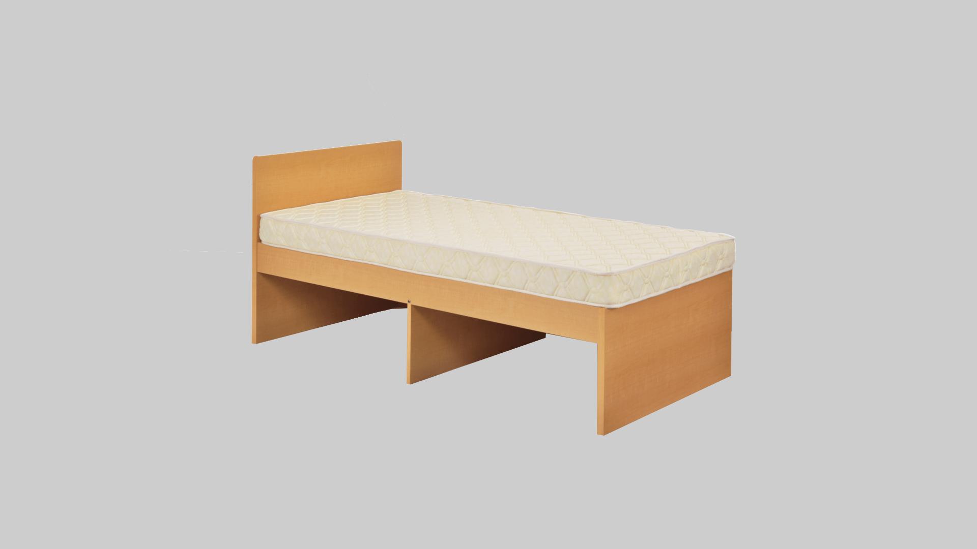 木製高床1段ベット イメージ