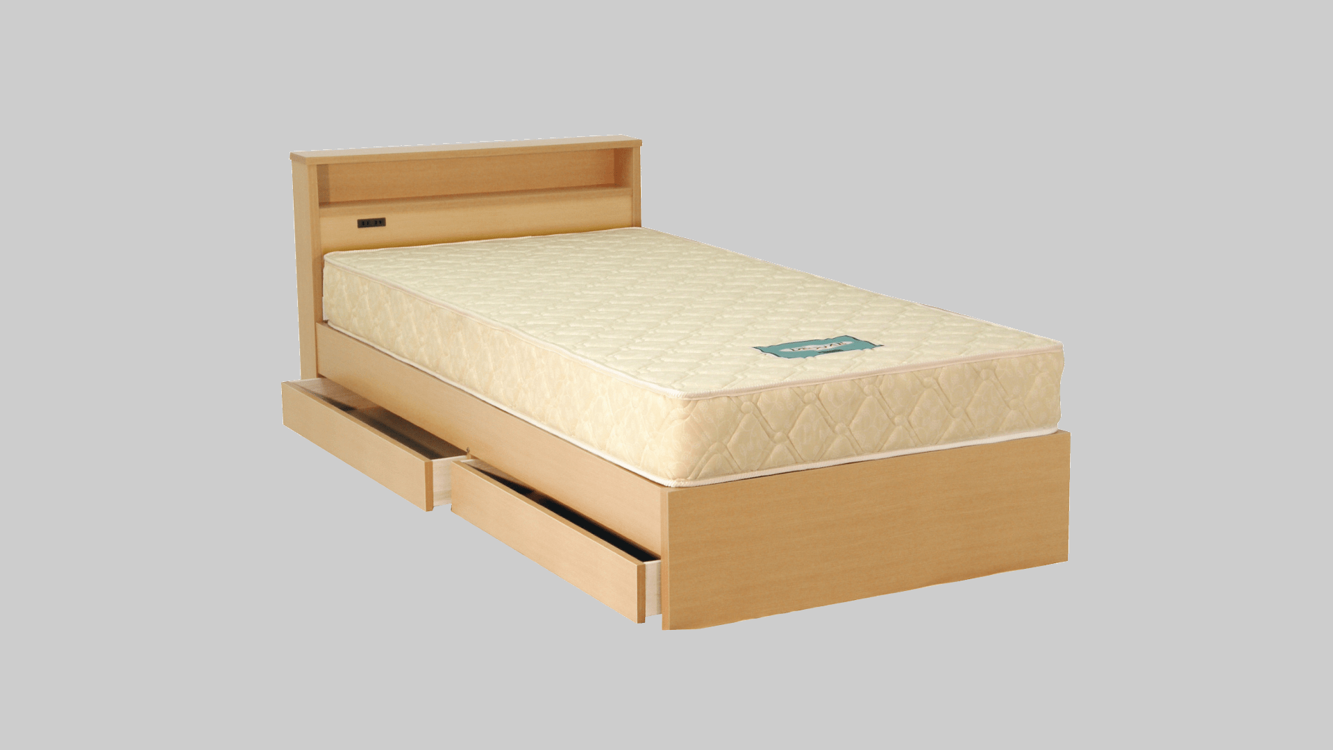 木製ベット3 ダブルコンセント付 イメージ