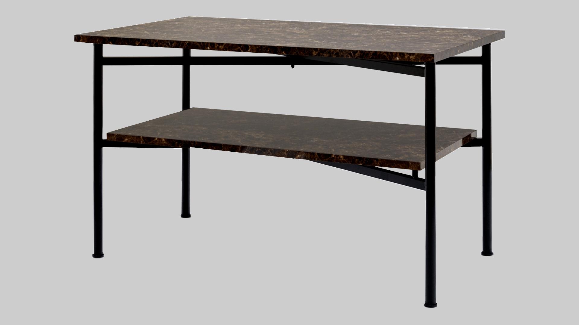 スプレッドテーブル 棚付 イメージ