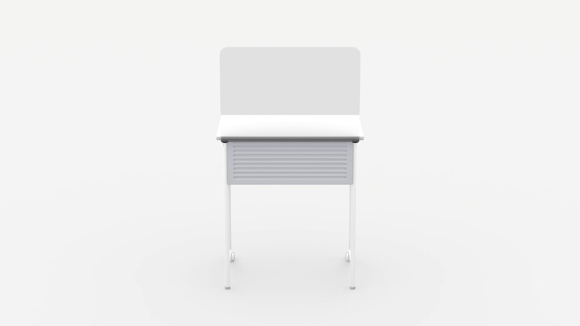 教室用飛沫防止スクリーン 固定タイプ イメージ