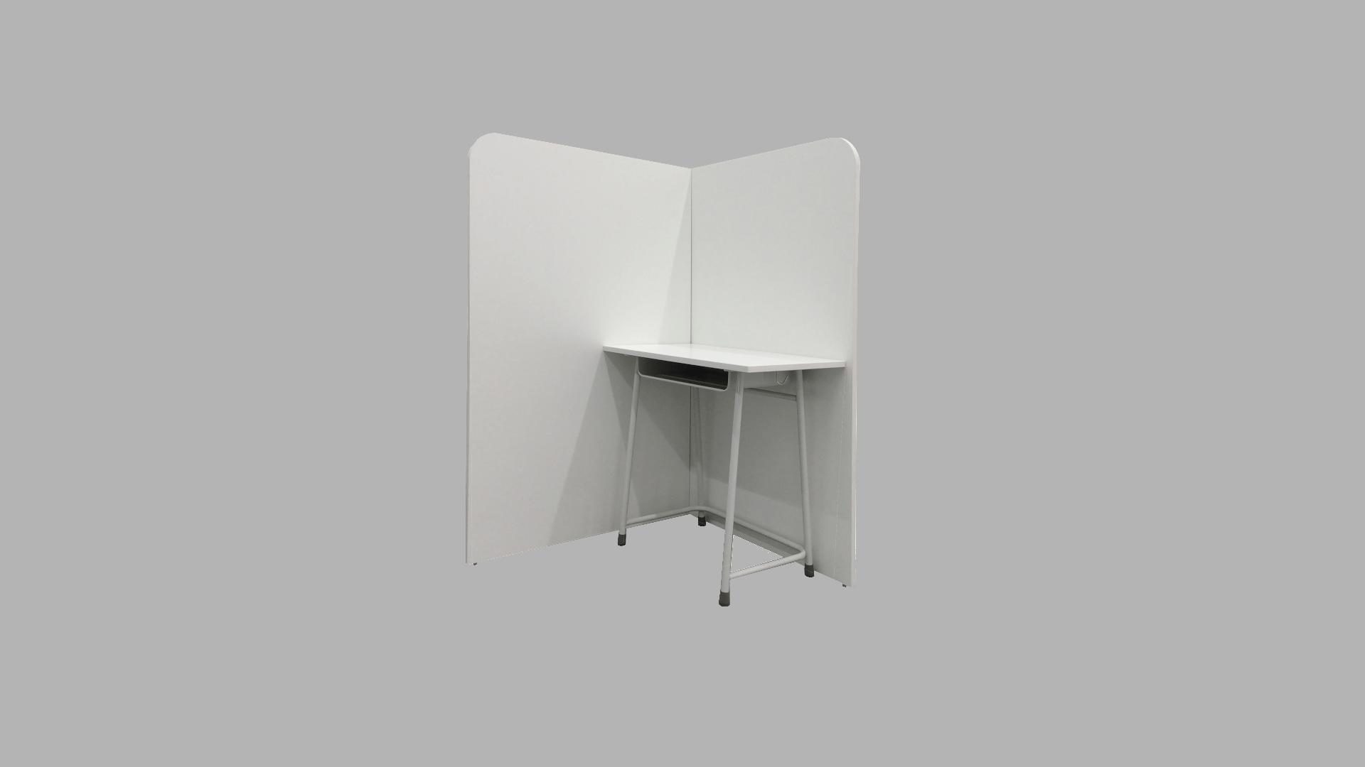 マグネット式ブース机 イメージ